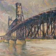STEEL BRIDGE, RAINY DAY